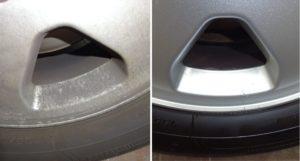 Čištění disků před a po