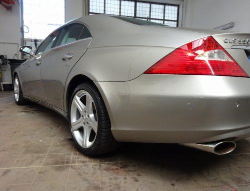 Mercedes CLS – leštění laku
