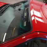 SAAB 9000 strojní renovace laku