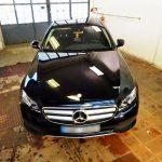 Mercedes E leštění laku