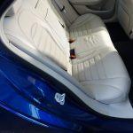 Mercedes C péče o kožený interiér