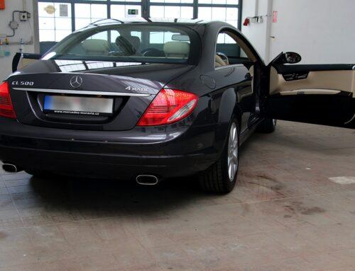 Mercedes CL500 – keramický povlak 5 let