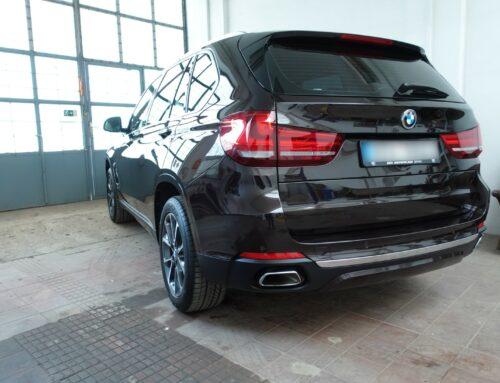 BMW X5 – jednokrok a kompletní vyčištění