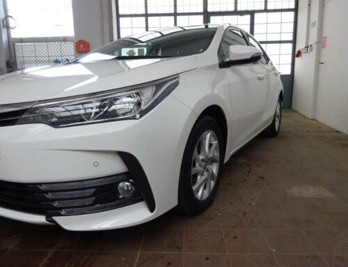 Toyota Corolla – kompletní vyčištění vozu