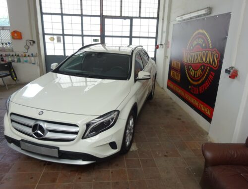 Mercedes GLA – kompletní vyčištění vozu