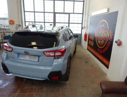 Subaru XV – vyčištění exteriéru a dekontaminace laku