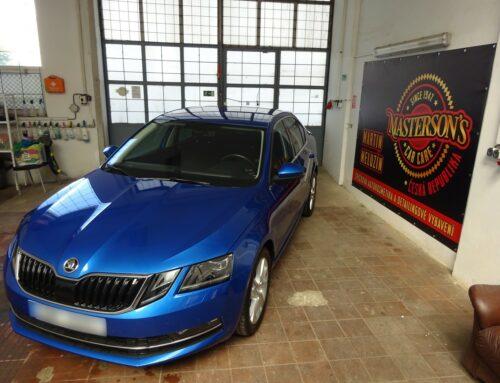 Škoda Octavia – kompletní pečlivé vyčištění vozu